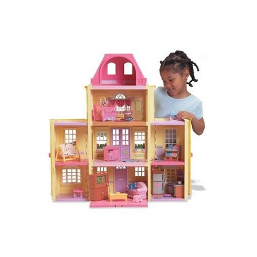 Family Twin Time Dollhouse - African American Family ()