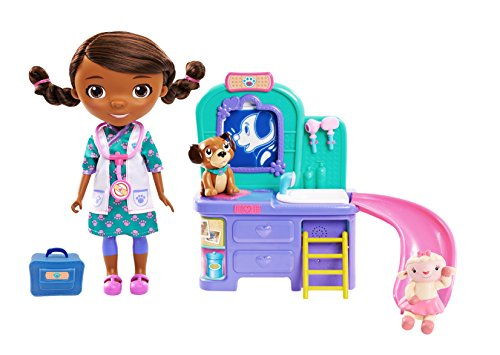 Doc McStuffins Pet Vet Talking Doll & Care