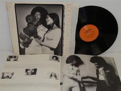 SLY & THE FAMILY STONE Small Talk LP Epic PE 32930 (1974) orig album with lyrics (Sly & The Family Stone Small Talk)