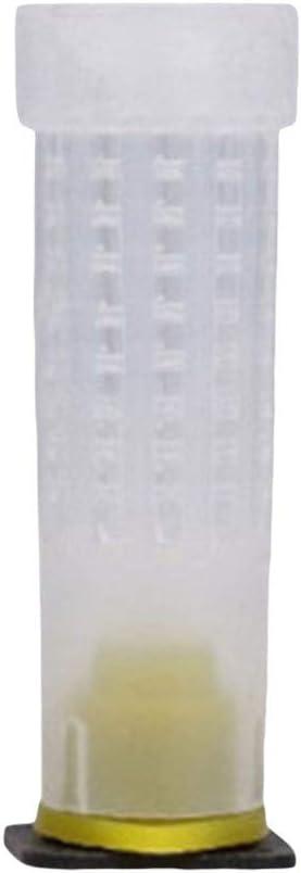 Gjyia 30 Pcs Reine Cellule Tasse Cage Protection Abeille /Élevage Abutment /Équipement Apiculture Outils Insectary Box