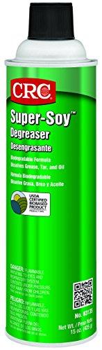 Degreaser 15 Oz Aerosol - CRC Super-Soy Degreaser, 15 oz Aerosol Can, Clear Light Yellow
