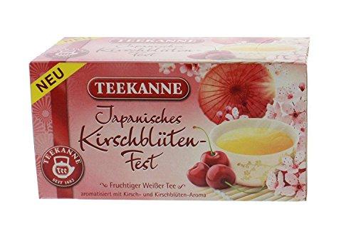- Teekanne Japanese Cherry Blossom Tea 20 Bags