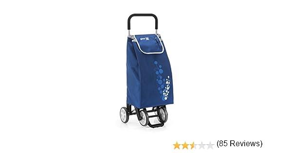Gimi Twin - Carro de la compra, con 4 ruedas, bolsa ...