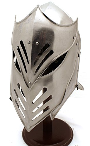 Medieval Warrior Brand 20G Steel Armageddon Helmet w/ Leather Liner