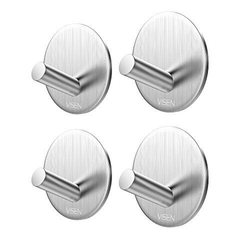 VISEN adhesive hanger clothes headphones product image