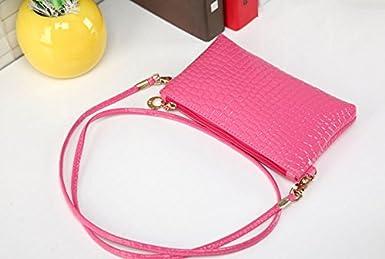 Liraly Gift Bags 2018 New Women Girl Fashion Purse Leather Crocodile Pattern Mini Crossbody Shoulder Bag