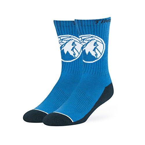 - NBA Minnesota Timberwolves OTS Anthem Sport Sock, Timber Blue, Large