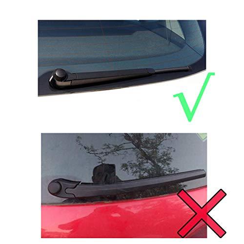 Juego de 3 escobillas limpiaparabrisas delanteras y traseras Xukey para Seat Leon Typ 1P Hatchback 2005 - 2012: Amazon.es: Coche y moto