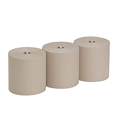 """Pacific Blue Ultra 8"""" High-Capacity Recycled Paper Towel Roll by GP PRO (Georgia-Pacific), Brown, 26496, 1150 Feet Per Roll, 3 Rolls Per Case: Industrial & Scientific"""