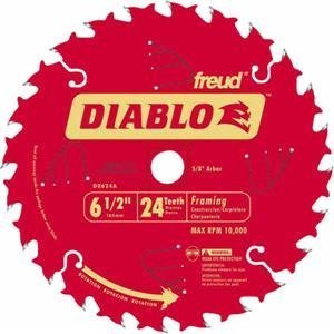 "Diablo D0624A 6-1/2"" 24T Diablo™ Circular Saw Framing for sale  Delivered anywhere in USA"