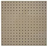 Square Hole Pegboard, 24x24, Tan, PK2