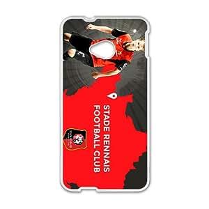 DASHUJUA Five major European Football League Hight Quality Protective Case for HTC M7