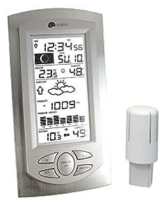 La Crosse Technology WS 9032 - Estación meteorológica (aluminio), transparente