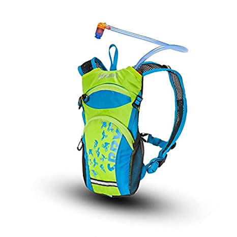 Amazon.com : Source Outdoor Spry 1.5L Hydration Pack for Kids and Youth, Blue/Green : Sports & Outdoors