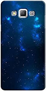 غطاء It Up - جراب صلب مطبوع عليه Star Cloud Blue Space 04 Samsung Galaxy A5
