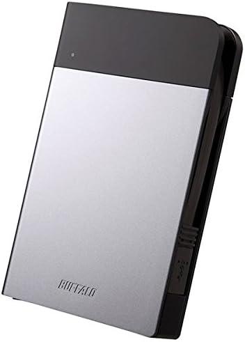 バッファロー ICカード対応MILスペック 耐衝撃ボディー防雨防塵ポータブルHDD 2TB シルバー HD-PZN2.0U3-S AV デジモノ パソコン 周辺機器 その他のパソコン 周辺機器 [並行輸入品]