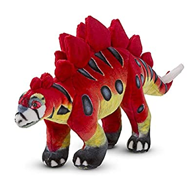 Melissa & Doug Giant Stegosaurus Dinosaur - Lifelike Stuffed Animal: Melissa & Doug: Toys & Games