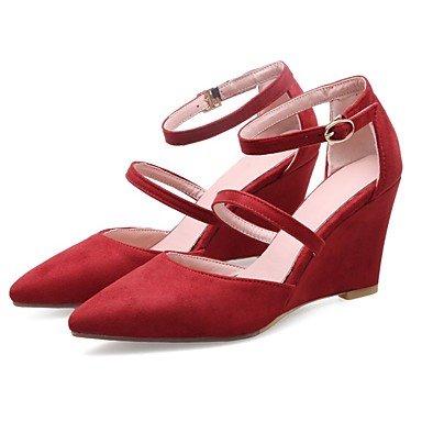 Club Otoño Personalizado US9 Soles 5 Zapatos Comfort UK7 amp;Amp; CN42 8 Carrera Novedad Zormey 10 EU41 Luz Mujer Primavera Oficina Formales 5 Zapatos Sandalias Gladiador Materialswedding OxftI