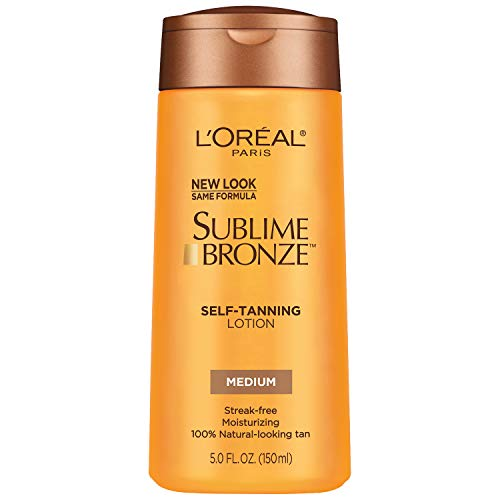 L'Oreal Paris Sublime Bronze Self-Tanning Lotion, Medium, 5