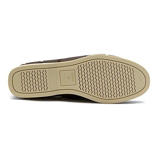 Zwemt Mens Boot Loafers Bruin / Crème