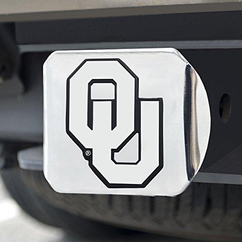 FANMATS NCAA University of Oklahoma Sooners Chrome Hitch Cover