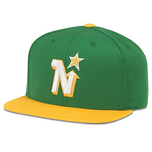 (American Needle Throwback Minnesota North Stars 400 Series Vintage Hat)