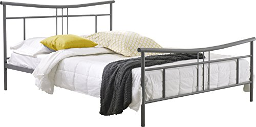 silver bed frame queen product reviews buy flex form asher metal platform bed 5212