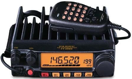 Bundle - 2 Items - Includes Yaesu FT-2980R 80W FM 2M Mobile Transceiver and Ham Guides TM Quick Reference Card