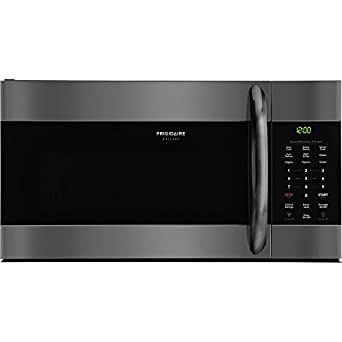Amazon.com: Frigidaire Galería negro acero inoxidable over ...