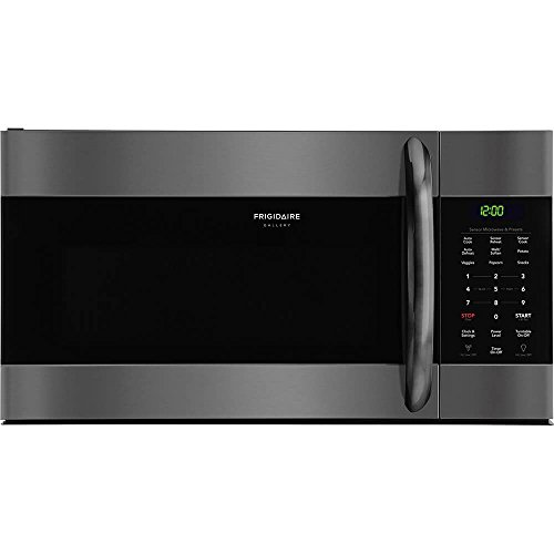 Frigidaire FGMV176NTD 1.7 Cu. Ft. Over-The-Range Microwave, Black Stainless Steel