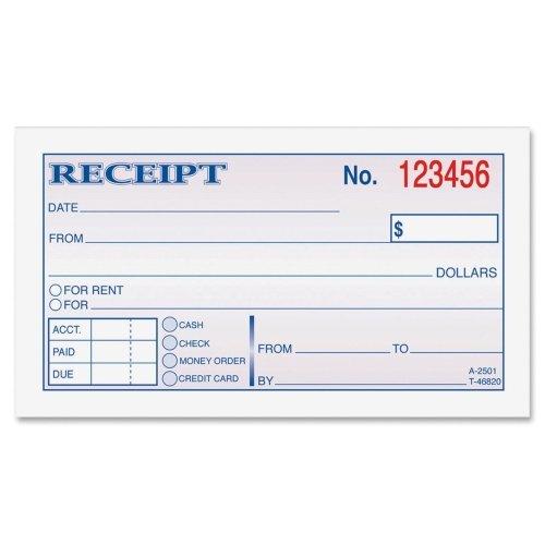 Wholesale CASE of 25 – Adams Money /入金books-money Rent /レント入金BKテープ、バインド、2-part、2 – 3 / 4