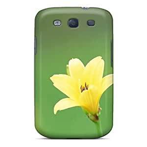 Brand New S3 Defender Case For Galaxy (yellow Flower)
