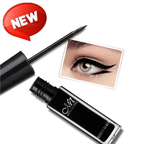 Waterproof Eyeliner- Black Eye Liner Trio Set with 2 Eyebrow Pencils By MeNow