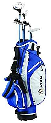 """ATOM Complete Junior Golf Set, Youth 54-63"""" tall, Ages 10 - 13, Right-handed"""