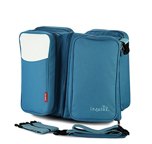 Herasa 3 in 1 Portable Travel Bassinet, Travel Crib and Diaper Bag, Changing Pad, Mother Bag JP-MBA-0261