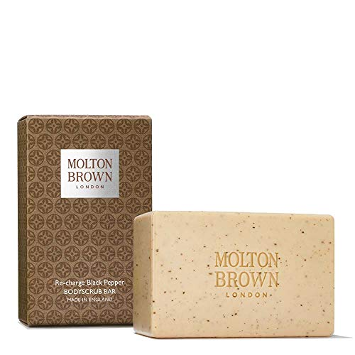 (Molton Brown Black Pepper Body Scrub Bar)