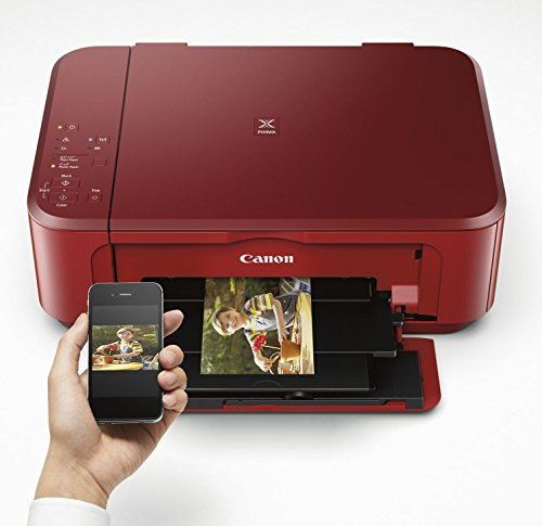 Canon PIXMA MG3620 Wireless All-In-One Color Inkjet Printer with Mobile and Tablet Printing, Red by Canon (Image #2)