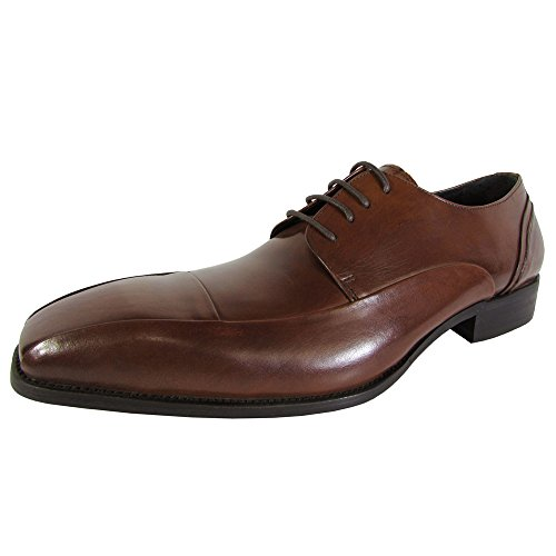 New York Bicycle Toe Oxford - Kenneth Cole New York Mens Big Sur Cap Toe Oxford Shoes, Tan, US 9