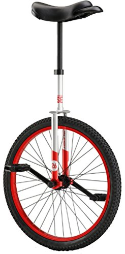 Raleigh Unistar SE 26'' Unicycle Silver/Red