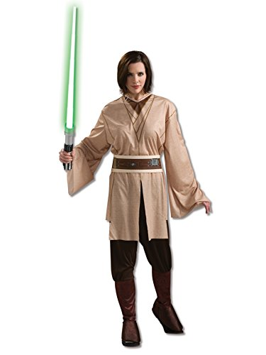 (Rubie's Costume Co Women's Star Wars Jedi Costume Beige One)