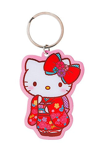 Hello Kitty Kimono Metal llavero clave cadena: Amazon.es: Hogar