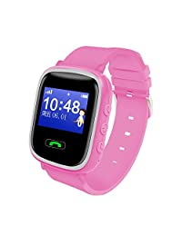 Abory GPS Kids Smart Watch Waterproof WristWatch for Smartphones IOS Apple iphone 4/4S/5/5C/5S Android Samsung S2/S3/S4/Note 2/Note 3 HTC Sony Blackberry