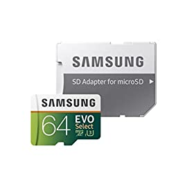 32GB EVO Select Memory Card and Sabrent SuperSpeed 2-Slot USB 3.0 Flash Memory Card Reader 2 IDEAL FOR RECORDING 4K UHD VIDEO: Samsung MicroSD EVO is perfect for high-res photos, gaming, music, tablets, laptops, action cameras, DSLR's, drones, smartphones (Galaxy S10, S10+, S10e, S9, S9+, Note9, S8, S8+, Note8, S7, S7 Edge, etc.), Android devices and more ULTRA-FAST READ WRITE SPEEDS: Up to 100MB/s read and 90MB/s write speeds; UHS Speed Class U3 and Speed Class 10 (performance may vary based on host device, interface, usage conditions, and other factors) BUILT TO LAST RELIABILITY: Shock proof memory card is also water proof, temperature proof, x-ray proof and magnetic proof