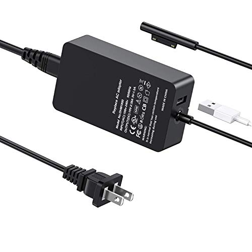 Surface Book Charger Surface Pro Charger, CIVIE 44W 15V 2.58A Power Supply for Microsoft Surface Book Surface Pro 3 Pro 4 Pro 5 Pro 6 Surface Go Surface Laptop Charger Adapter