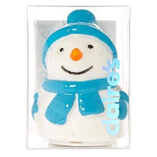 Claire's Marshmallow Snowman Lip Gloss Pot]()
