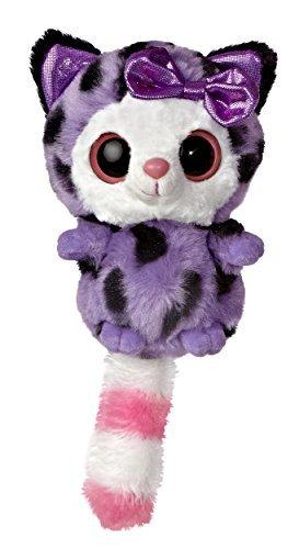 Aurora World YooHoo and Friends Small Pammee viola Cheetah Plush by Aurora World