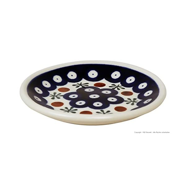 Small Ceramic Plate (Sushi Disc) ø11,6cm Decor 41