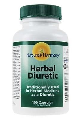 Nature's Harmony Herbal Diuretic?100 Capsules?