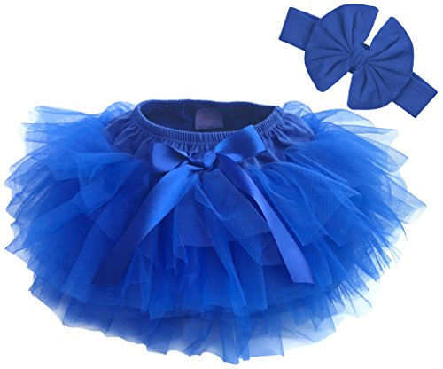 Dancina Baby Bloomer Romper Tutu Skirt Age 6-24 Months RoyalBlue