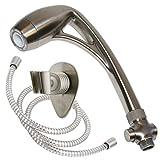 Oxygenics 26481 Brushed Nickel Body Spa Shower Kit
